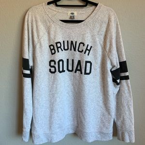 Old Navy Women's Brunch Squad Sweatshirt